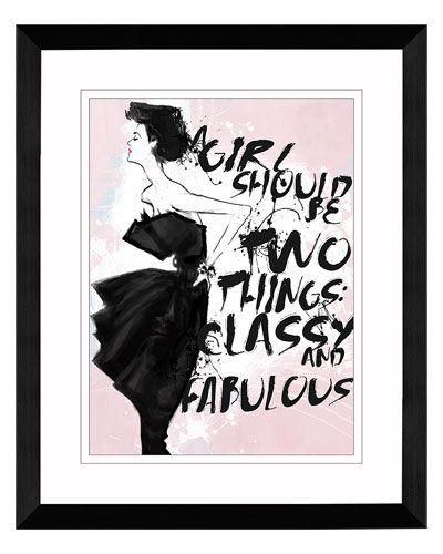 """Classy & Fabulous"" by Christina Lim"