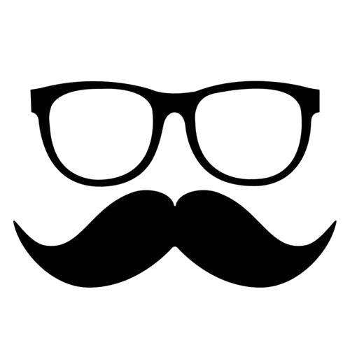 Moustache Zentangle Doodles Illustration Pinterest