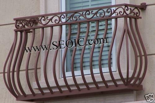 Best Details About Wrought Iron Or Aluminum False Balcony 400 x 300
