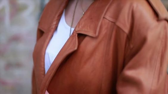 Trend watch: leather jacket