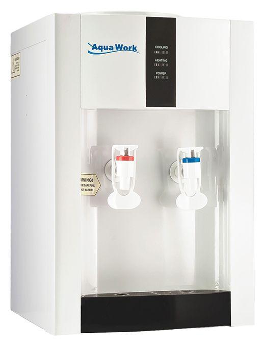 Кулер для воды AquaWork AW 16TD/EN белый купить в магазине Сантехника-онлайн.Ру