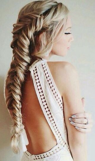 Fishtail braid #gorgeoushair