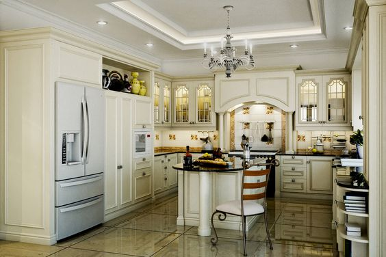 12 fabulous retro kitchen designs you must see amazing for Classic country kitchen designs