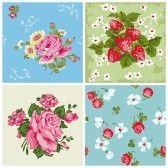 : Juego de Seamless antecedentes de cosecha de flores-para bloc de notas y el diseño Foto de archivo