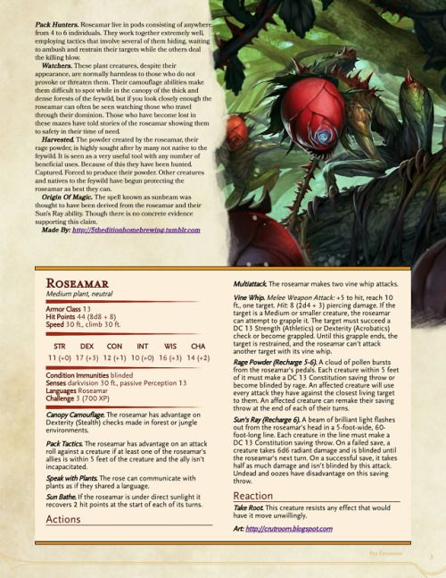 Oh Hey Monsters To Use In The Feywild A Fairy A Dungeons Dragons Dungeons And Dragons Homebrew D D Dungeons And Dragons Dnd Monsters