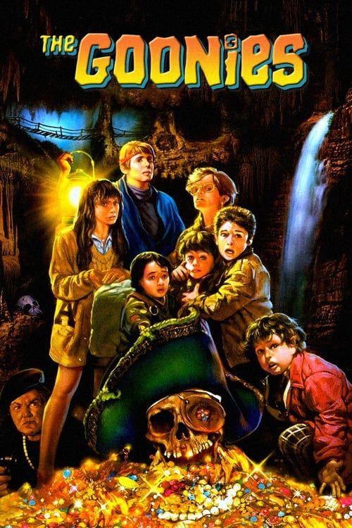 The Goonies 1985 Full Movie Image Wallpaper Download Carteles De Cine Minimalistas Carteles De Pelicula Antiguos Carteles De Cine