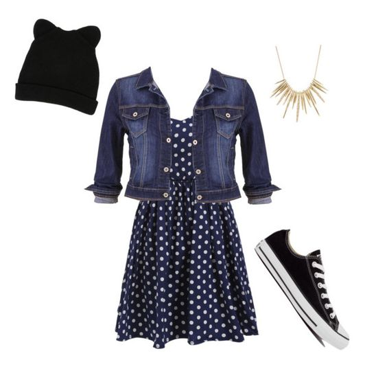 "More Like-""I Just Threw This On"" by nekogirl2002 on Polyvore featuring polyvore, fashion, style, maurices, Converse, Alexis Bittar and George J. Love"