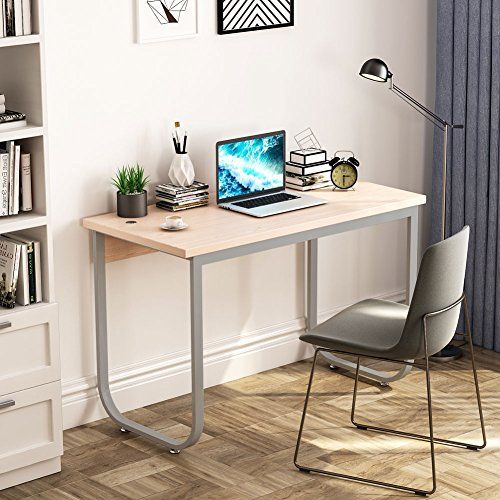 Tribesigns Modern Simple Style Writing Desk Pc Laptop Study Table