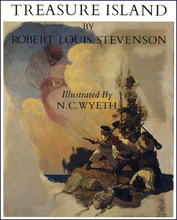 N. C. Wyeth, 1911. Title page illustration.