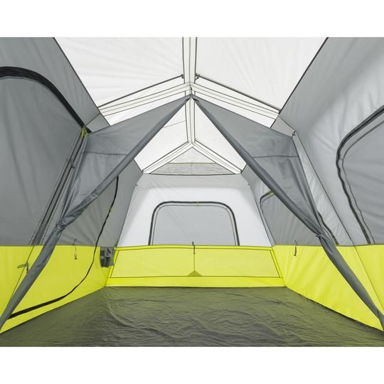 10 Person Instant Cabin Tent With Screen Room 14 X 10 In 2020 Cabin Tent Tent Home Defense