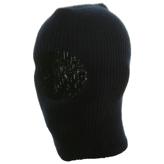 Child One Hole Ski Mask-Navy