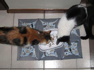 Luz Weber: Tapetes para os gatos