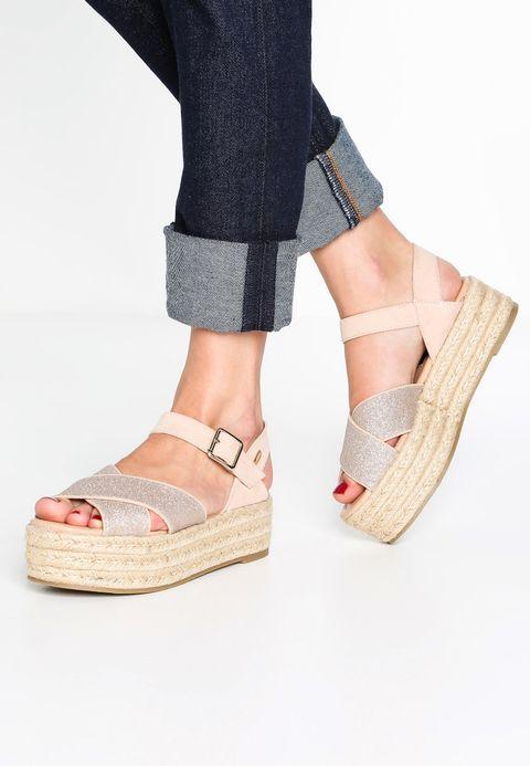 mtng Platform sandals - maquillaje
