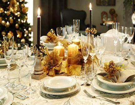 Decoracion para mesas de fin de ano tips para decorar la - Decoracion fin de ano ...