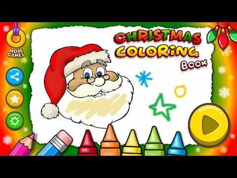 Christmas Coloring Book The Best Way To Learn And Entertain For Kids Youtube Christmas Coloring Books Coloring Books Christmas Colors