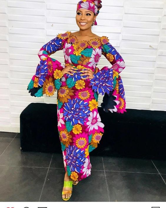 2019 Lovely and Fabulous Ankara Long Gown Styles