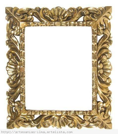 Marcos dorados buscar con google marcos y bordes - Marcos dorados para cuadros ...