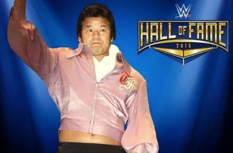 Japanese Legend Tatsumi Fujinami 2015 Class Hall Of Fame