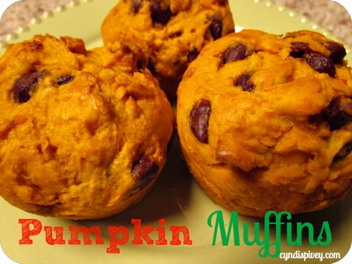 Not So Pumpkin, Pumpkin Muffins