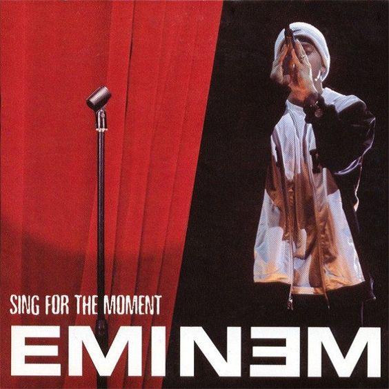 Eminem – Sing for the Moment (single cover art)
