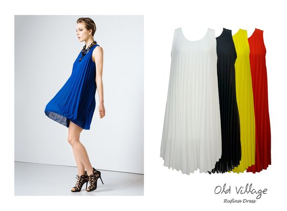 Do you want to feel beautiful and glamorous? Rufina is the dress you are looking for...  #Dress #ChiffonDress #SleevelessDress #PleatedDress #Trends #Fashion #MadeinItaly #SS2016 #SpringSummer2016 Collection at #OldVillageBrighton  - SHOP NOW - http://www.oldvillage.co.uk/#!dresses/i4l7n