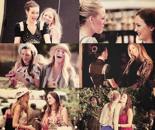 Blair: Posso contar com você sempre! Serena: Você não está sozinha. Nunca.