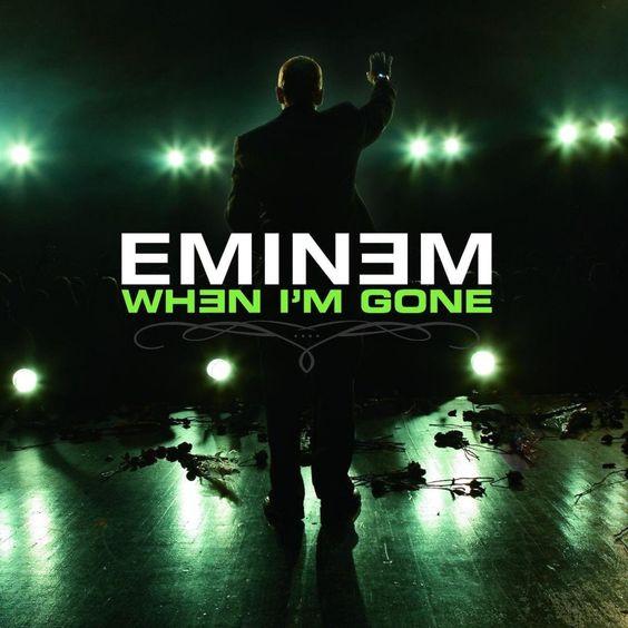 Eminem – When I'm Gone (single cover art)