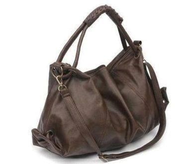 bolsas femininas de couro escura