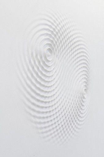 LORIS CECCHINI | Wallwave vibration (yours symmetric relation), 2012