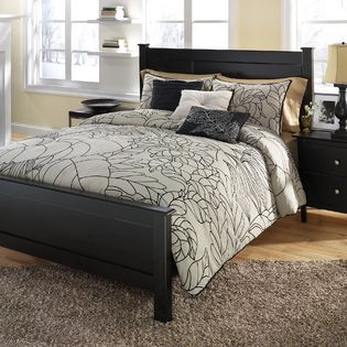 Jaco bed bath and comforter sets on pinterest for Ty pennington bedroom designs