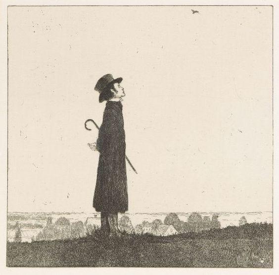 Heinrich Vogeler - An den Frühling, 1899
