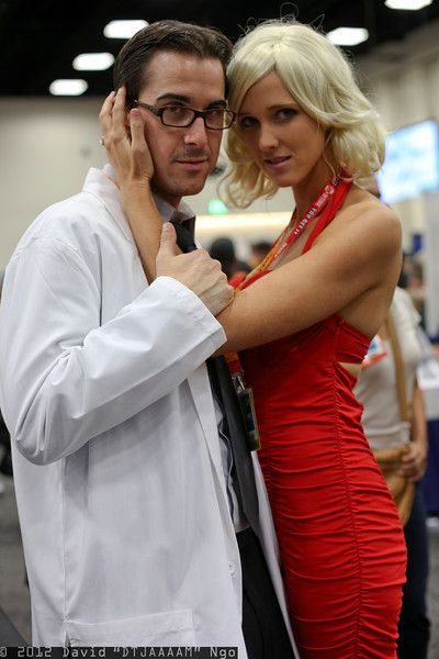 Dr. Gaius Baltar and Number Six cosplay. # ...