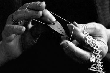 Lace-making