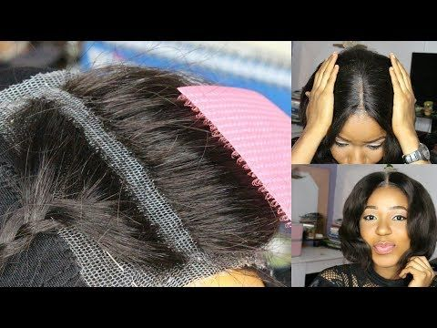 Diy How To Make Your Own Lace Closure Start To Finish Fast And