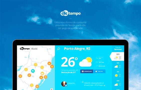 Clic tempo by Grupo RBS