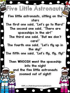 The Kindergarten Smorgasboard: FREEBIES! | SPACE ...