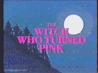cartoon, pink, and witch imageの画像