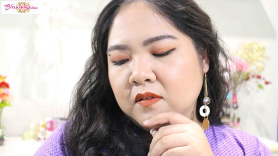 1 Face, 1 Lip Coat. Here I wore the Pumpkin Sorbet on the eyes, cheek and lips