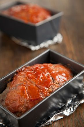 Paula Dean's Old-Fashioned Meat Loaf. You can substituted the oats for bread crumbs.