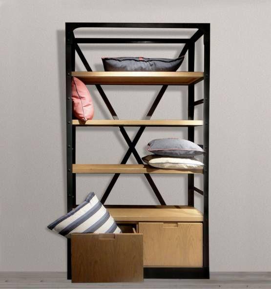 Oak & Co. - Muebles a tu medida - Biblioteca Cruceta