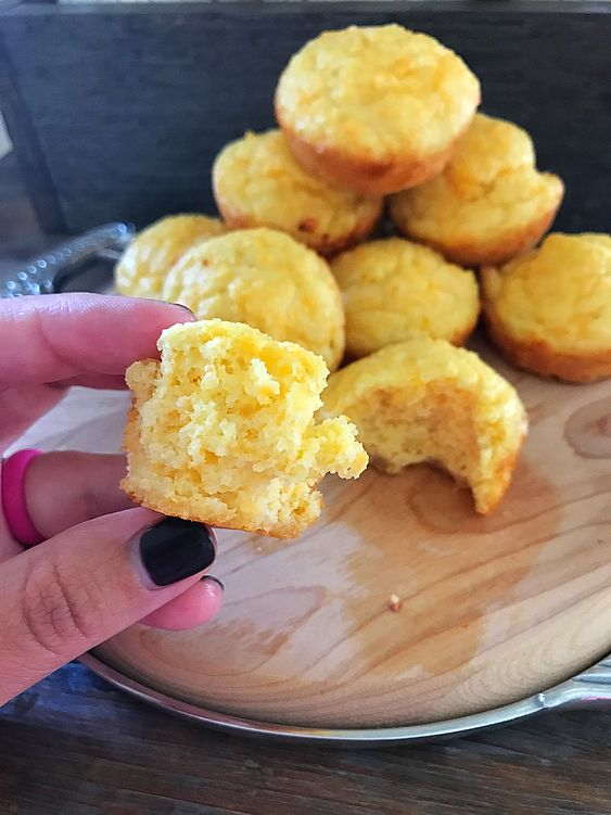 "Keto ""Cornbread"" Muffins   Keto In Pearls   A Ketogenic Lifestyle Blog"