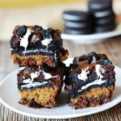 Slutty brownies | Sweets/Desserts | Pinterest | Brownies, Oreo and ...