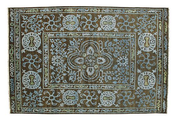 10'5x13'9 Walter Rug, Brown/Sky/Green    $10,059.00