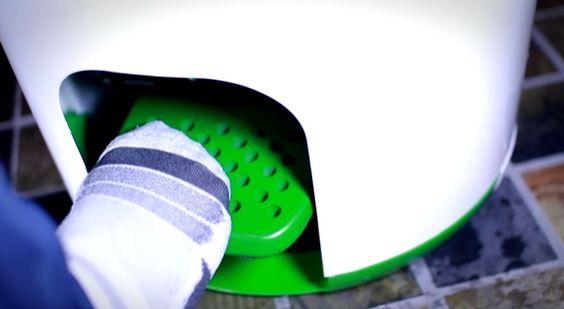 Drumi, lavadora a pedales sin electricidad