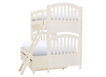 Twin over full bunk with trundle | For my Girls! | Pinterest | Trundle ...