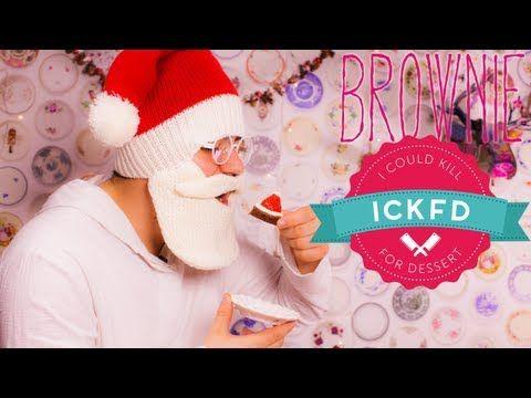 BROWNIE Natalino - Especiais de Fim de Ano | I Could Kill For Dessert 25 #ICKFD - YouTube