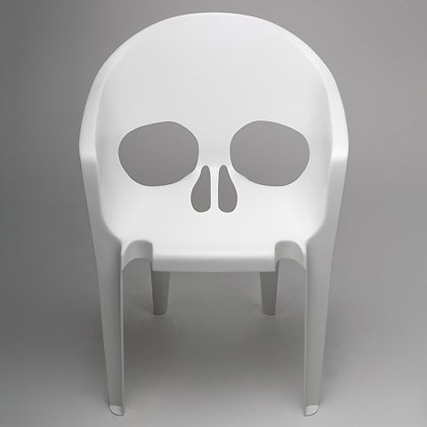 Skull chair #neat