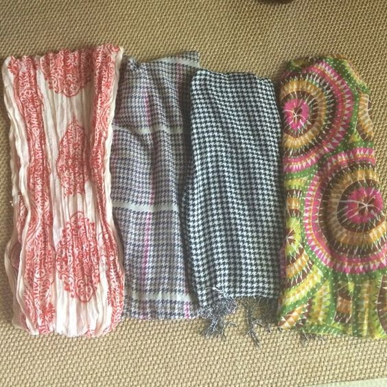 Lightweight scarves Each sold separately. No trades or PayPal Accessories