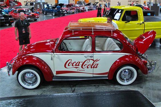 Beetle Coca cola and Volkswagen beetles on Pinterest