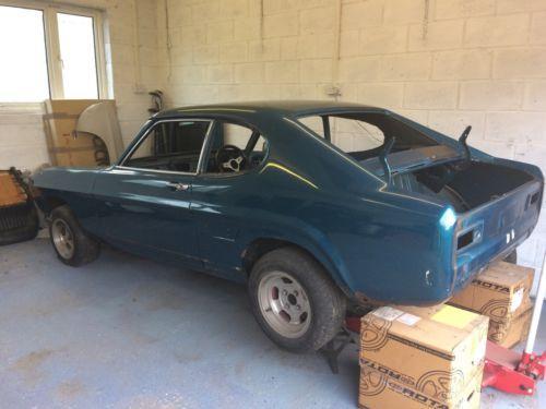 Ebay Ford Capri Mk1 3000gt 1971 Pre Facelift Restoration Project